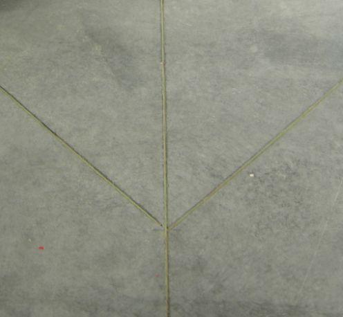 Деформационные швы в черновой бетонной стяжке