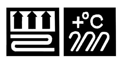 Маркировка ламината, указывающая на его совместимость с теплыми полами