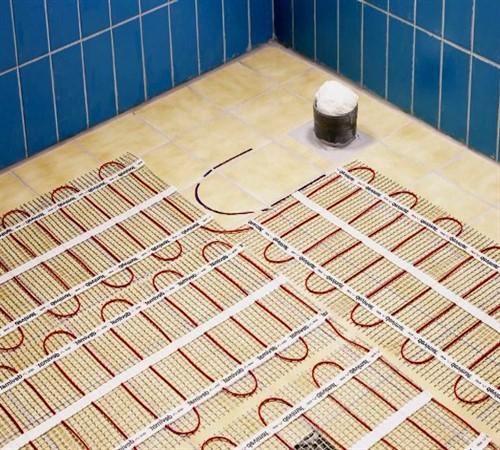 Раскладка электрических матов